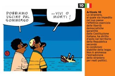 Danilo Maramotti Art.10_cartoline per la costituzione