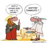 Ancora una raffinatissima vignetta di Eugenio Saint Pierre a commento dell'art. 7