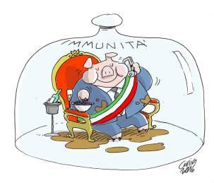 Quanto a Giancarlo Covino, va molto oltre… Lui vede solo protezioni per i potenti!