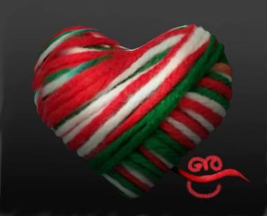 Per Giò la bandiera è amore.