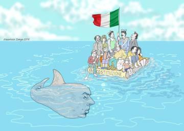 Maurizio Zenga_vignettisti per il no_luglio