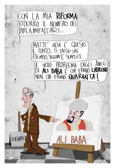 Paolo Caruso_vignettisti per il no_luglio