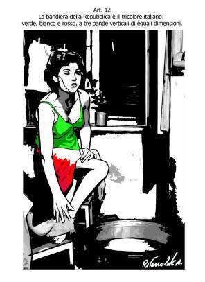 Per Tiziano Riverso è simbolo di bellezza e grazia femminea.